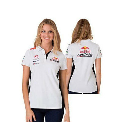 Red Bull Racing Australia Ladies Team Polo V8Supercars Sizes 8 10 12 14 16 18