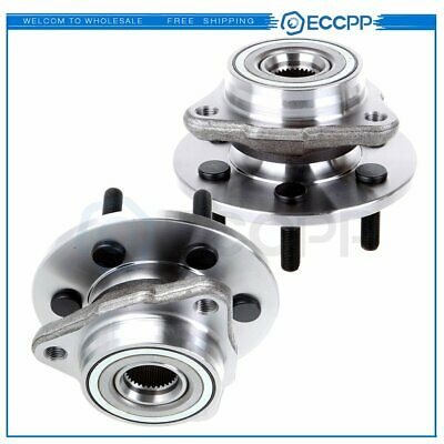 Pair Of 2 Front Wheel Hub Bearing Assembly Fits Dodge Dakota Durango 4WD 4X4