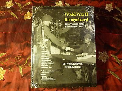 WORLD WAR II REMEMBERED A  NUMISMATIC STUDY Fred Schwan, Joseph Boling, coin