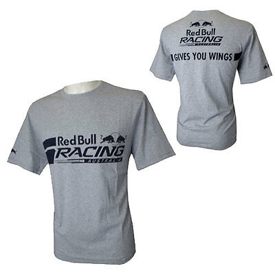 Red Bull Racing Australia Mens Lifestyle Tshirt Tee V8Supercars Sizes S M L Xl