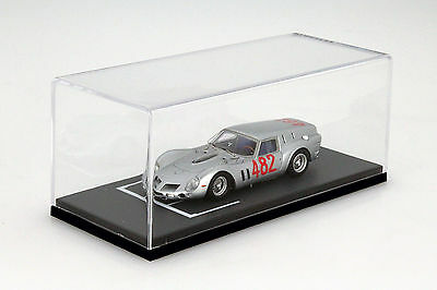 BBR Display Cabinet with Grid Line Surface for Model Cars in Scale 1:43