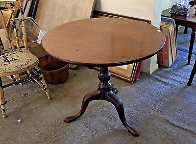 Antique Tilt top round table - from estate