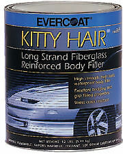 Evercoat 100868 KITTY HAIR REINFORCE FILLER-QT