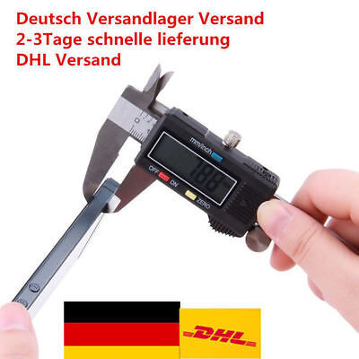 "Digital LCD Schieblehre Messchieber Messschieber 150mm 6"" Digital LCD Caliper ~A"