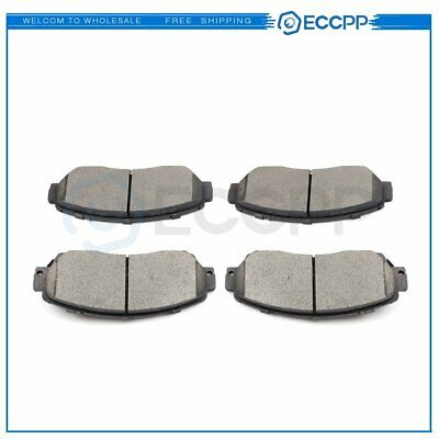 Set for Toyota Corolla Matrix Vibe Front 4PCS Premium Ceramic Brake Pads Disc