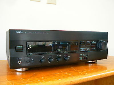 Yamaha Rx-396 Naturale Sound Stereo Am/fm Receiver