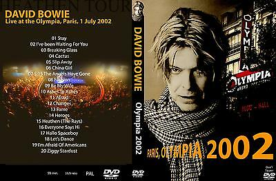 David Bowie. 2002. Live At The Olympia. Paris. Pro - Shot. Dvd.