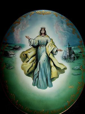 VISIONS OF OUR LADY Hector Garrido decorative plates