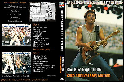 Bruce Springsteen. 1985. San Siro. 20Th Anniversary Edition. 2 Dvd.