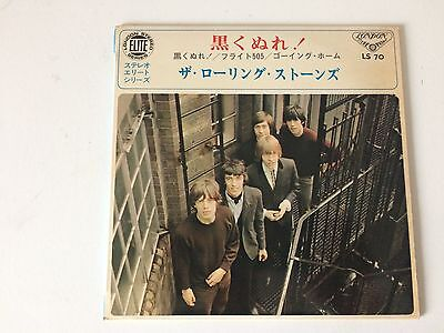 7 Inch Single 33 Ep The Rolling Stones Paint It Black Japan