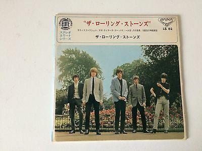 7 Inch Single 33 Ep The Rolling Stones Satisfaction Japan