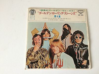 7 Inch Single 33 Ep The Rolling Stones Jumpin' Jack Flash Japan