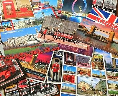 London UK England Souvenir Postcards Landmark Buildings Royal London