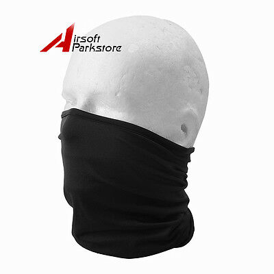Outdoor Unisex Cycling Bike Bicycle Motorcycle Elastic Half Face Mask Hood Black