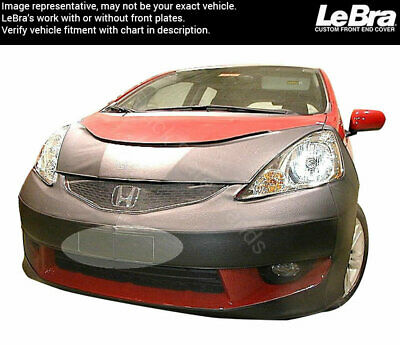 LeBra Front End Mask-551221-01 fits Honda Fit Sport 2009 2010 2011