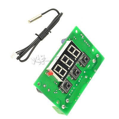 W1301 Temperature Controller Switch DC 12V Digital Thermostat Sensor -50-110°C