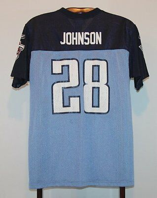 Maillot Trikot Jersey Foot Américain Nfl Us Chris Johnson Titans Tennessee M