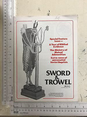 Sword & Trowel magazine: 1984, Number 3