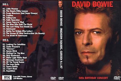 David Bowie. 1997. 50 Birthday. New York. Pro - Shot. 2 Dvd.