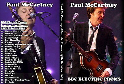 Paul Mccartney. 2007. London Roundhouse. Pro-Shot Dvd.