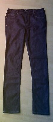 BURBERRY Teenager Girl BLACK Classic JEANS Size 14 16 years 164cm NEW trousers
