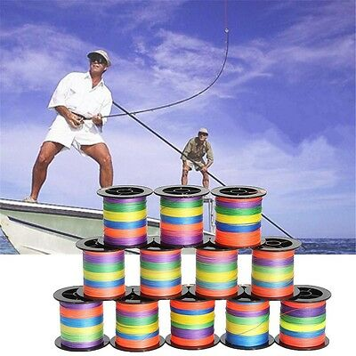 100M 500M Strong PE Fishing Line Spectra Dyneema Sea Braid Multi-color LB Select