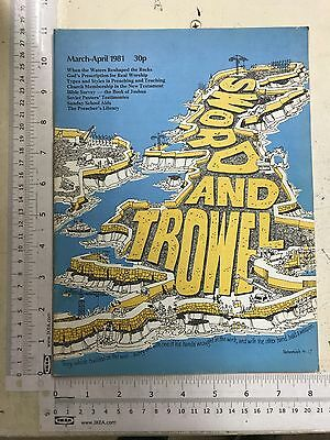 Sword & Trowel Magazine: March- April 1981