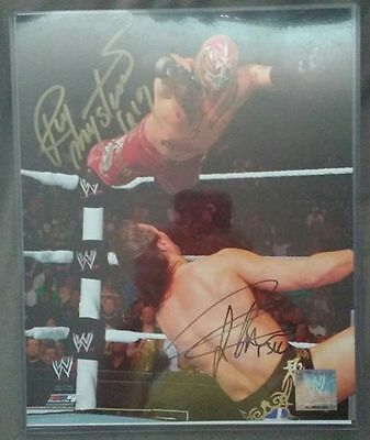Wwe Drew Mcintyre & Rey Mysterio Autographed Photo Hand Signed