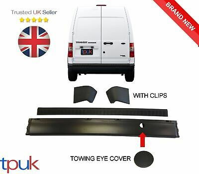 Transit Tourneo Connect Rear Bumper And Bumper Cover With End Caps 2002 - 2013