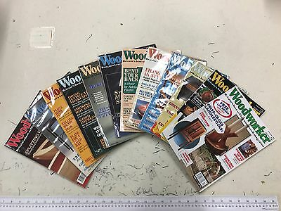 Woodworker magazine, 1992, 12 issues, job lot