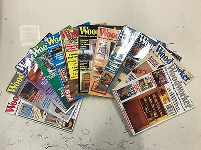 Woodworker magazine, 1993, 12 issues, job lot
