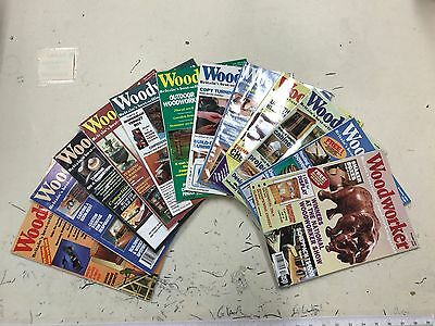 Woodworker magazine, 1994, 12 issues, job lot