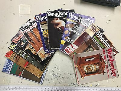 Woodworker magazine, 1987, 12 issues, job lot