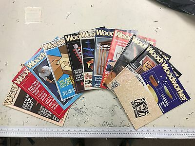 Woodworker magazine, 1984, 11 issues, job lot