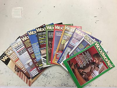 Woodworker magazine, 1983, 12 issues, job lot