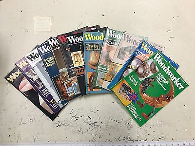 Woodworker magazine, 1985, 12 issues, job lot