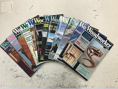 Woodworker magazine, 1988, 12 issues, job lot