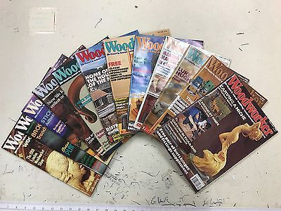 Woodworker magazine, 1989, 12 issues, job lot