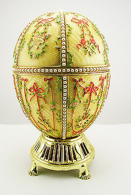 Faberge Gatchina Palace Egg  (does not come with original stand)