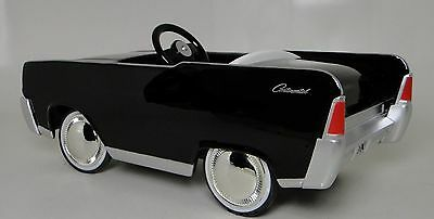 A Pedal Car Lincoln Continental Ford 1962 Rare Vintage Classic Midget Model