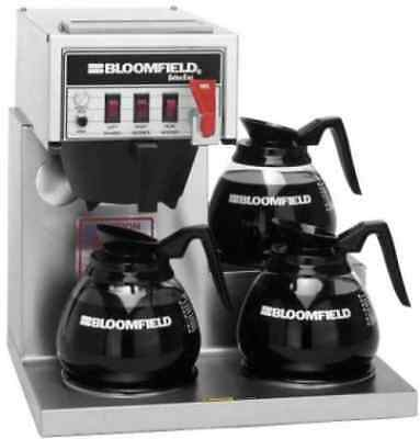 Bloomfield 8572 3L REFURB Low Pro Commercial Coffee Brewer Maker CALL 4 SHIPPING