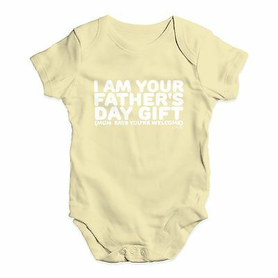 cdfa02348 Twisted Envy I Am Your Father's Day Gift Baby Unisex Funny Baby Grow  Bodysuit