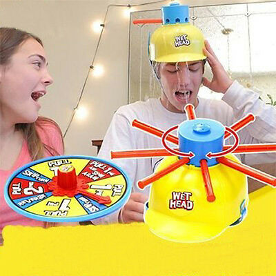 Wet Head Shower Water Roulette Game for Kids Indoor & Outdoor Toy Play Set Fast