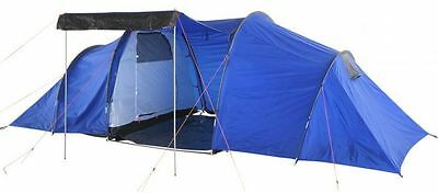 6 Man 2 Room Living Room / Bedroom Waterproof Outdoor Camping Tent (3/15)