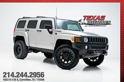 2007 Hummer H3 Lifted! 2007 Hummer H3 Suv 4X4 4WD! Extra clean! New tires! MUST SEE