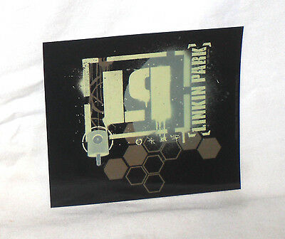 RARE Vinyl STICKER Decal LINKIN PARK Honeycomb Stencil S2597 11.5cm x 10cm