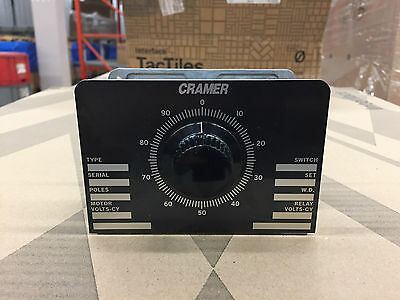 Cramer 10136 Multipole Cycle Timer 2 Circuits Model 540 Series (Chassis Only)