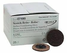 3M Scotch-Brite Roloc Surface Conditioning Disc, 2 inch, Coarse, 07480