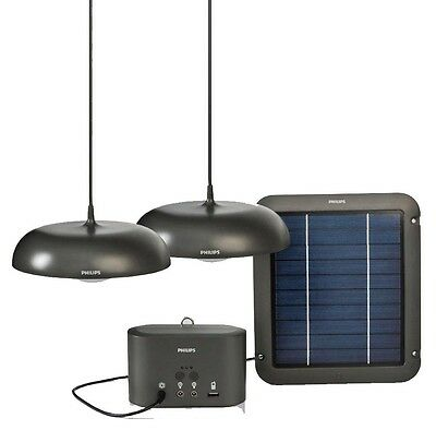 Lifelight Home 2 solar Pendant Lights Camping Marquees Shed Garden Patio