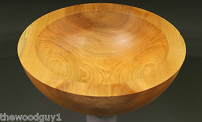 #2232  -    SILVER MAPLE  -  Roughed Out Salad Bowl - Kiln Dried